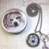Pet Memorial And Cremation Urn Locket Necklace 2