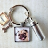 Pet Memorial Cremation Key Ring 3