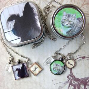 Pet Memorial Cremation Pendant Necklace 11