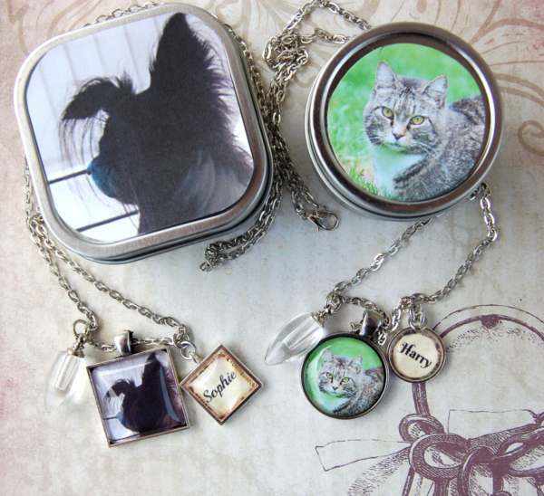 Pet Memorial Cremation Pendant Necklace 1